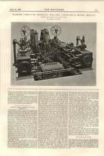 1899 Chihuahua Mines Mexico Tandem Compound Hoisting Engines