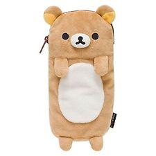 Rilakkuma Pen Pouch Case Plush Stuffed Japan San-X Free Shipping New