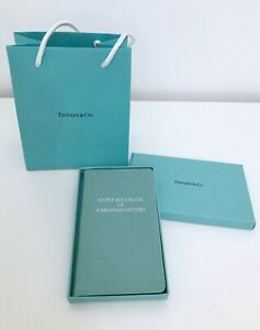 Tiffany & Co. Agenda Diario in pelle blue Little Blue Book of Christmas Wishes
