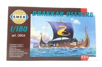 SMER Plastic Model Viking Sailing Ship Model Kit 1/180 Drakkar Oseberg