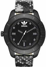 Adidas ADH3043 animal print leather strap  Superstar Black Watch (New with Tags)