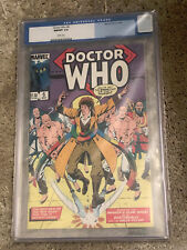 DOCTOR WHO #6 cgc 9.8 - Featuring The 4th Doctor - Marvel Comics 1985