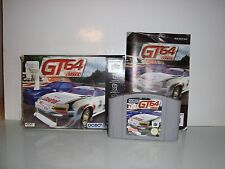 JEU NINTENDO 64 N64 - GT64 CHAMPIONSHIP EDITION COMPLET