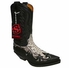 Sendra Boots Stivali 3241 Phyton Nero