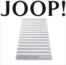 JOOP! Classic Frottierkollektion STRIPES Qualität Saunatuch 1610-76 Silber NEU