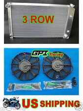 Aluminum Radiator Pontiac Firebird Trans Am 1970-1981 1976 1977 1978 1979 + fans