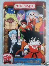 JPN DRAGONBALL MORINAGA SuShuu Card 21th World Martial Arts Tournament 028 GOKU