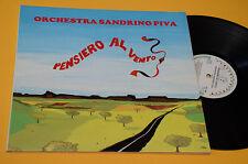 LP FOLK ROMAGNA LISCIO SANDRINO PIVA PENSIERO AL VENTO 1° ST ORIGINALE NM