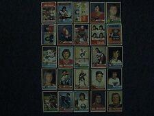 25-1974-75 Topps Hockey Cards (PHIL ESPOSITO/BRAD PARK/BOBBY CLARKE/ROD GILBERT)