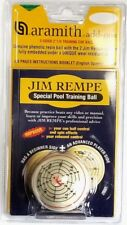 NEW ARAMITH JIM REMPE 2 - SIDED TRAINING CUE POOL BALL W/ 56 pg INSTRUCTION BOOK