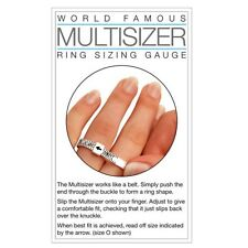 Ring Sizer Gauge Measures Finger Size a to Z