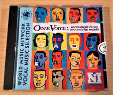 ONE VOICE -  Vocal Music From Around The World  - CD, Compilation  - 1997 UK