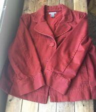 Ann Taylor cropped Jacket 3/4 Length Sleeves women's size large ladies coat