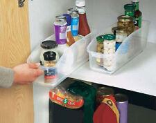 2 x Cupboard Organiser Tidy Storage Fridge Jars Spices Kitchen Bottle Pantry
