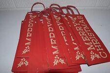 Merry Christmas Wine Gift Bag - Wondershop, Set of 16