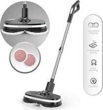 Gladwell Coaster Cordless 3 in 1 Spinner/Scrubber/Waxer Electric Mop - Black
