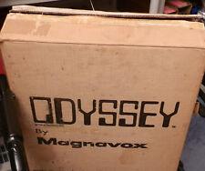 MAGNAVOX ODYSSEY RARE  PONG SERIAL #11443876  RUN  2  1975  W/SHIPPING BOX AA48