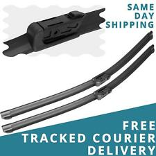 """For Audi A3 Saloon Convertible 2013-19 Front Windscreen 26"""" 18"""" Wiper Blades Set"""