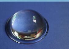 2pcs 20 100w Led Convex Lens Optical Glass Condenser Reflector Collimator 78mm