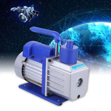 4.5CFM 1/2HP Rotary 2Stage Vacuum Pump Refrigerant Gauges Tool Air Condition New