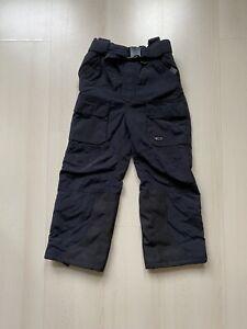 Trespass Black Snow Pants Salopettes Boys 5 6 Years Thermal