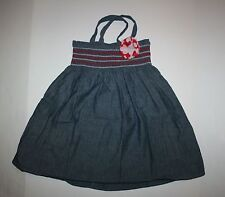 New Gymboree Embroidered Chambray Flower Dress 6 year NWT Parisian Afternoon Gir