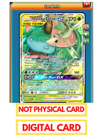 Venusaur & Snivy GX Pokemon TCG Online PTCGO FAST 1/236 Digital (Virtual) Card!