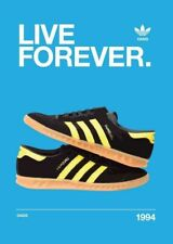 Adidas LIVE FOREVER A4 260GSM POSTER PRINT