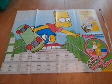 Simpsons German? Sticker Poster Hanuta