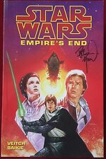 Star Wars: Empire's End (1997) -  Dave Dorman Signed TPB - Jedi Kids Appearance
