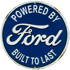 FORD metal embossed garage decor man cave blue ford automotive man cave