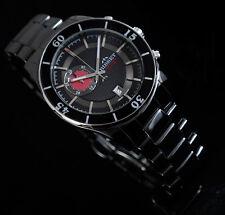BISSET BSFE12 INTRO KERAMIK SILBER CHRONO Herrenuhr Swiss Made Armbanduhr