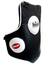 BOXING UPPER AND LOWER BODY PROTECTOR TRAINING BELLY CHEST PAD GUARD SHIELD