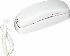 210WH AT&T Corded TrimLine Phone,Lighted Keypad, White BRAND NEW