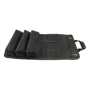 Large Capacity Electrician Tool Pouch Organizer Bag Roll Up Tool Bag