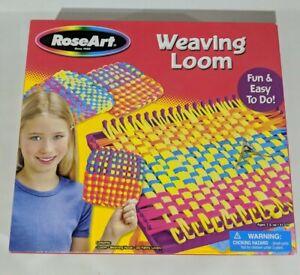 RoseArt Weaving Loom Vintage 2005 Open Box, Complete