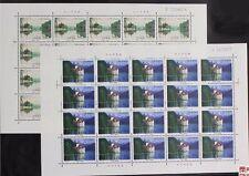 China 1998-26 Slender West Lake and Lai mountain lake  full sheet