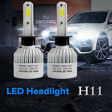 110W H11 COB LED 16000LM Auto Car Headlights Kit Driving Bulbs Lamps 6000K White