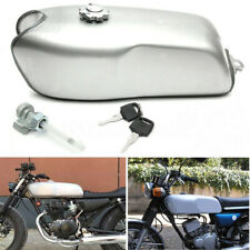 Cafe Racer Tank 9L 2.4 Gallon Motorcycle Fuel Gas Retro Petrol Tank Universal