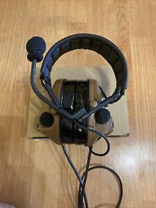 TAC-SKY New Dual Communication Tactical Comtac iii noise Canceling Headset CB