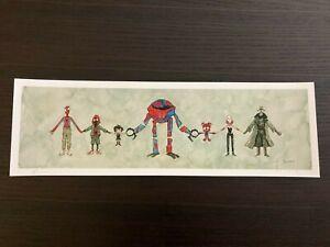 Scott C. - Spider-Man Hands Across The Various Verses Print - SDCC - #/200