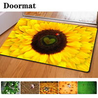 Floor Carpet Bathmat Indoor Room Home Kitchen Anti-slip Mats Decor Table Mat