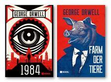 Buch Paket George Orwell 1984 und Farm der Tiere