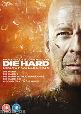 Die Hard: The Legacy Collection Films 1 2 3 4 & 5 Complete Box Set | New | DVD