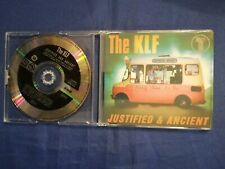 THE KLF - JUSTIFIED & ANCIENT - 5  TRACKS   CD