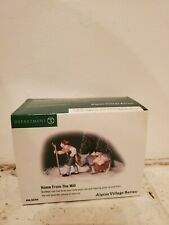 Dept 56 Home from the Mill Heritage Collection Alpine Village Accessory Nib