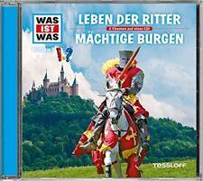 CD * WAS IST WAS - FOLGE 04 - LEBEN DER RITTER / MÄCHTIGE BURGEN # NEU OVP !