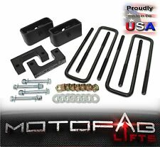 "2"" Front and 1"" Rear Leveling lift kit for 2007-2017 Chevy Silverado Sierra GMC"
