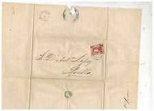 1873 Veracruz Mexico Cover to Puebla Dr Antonio Lopez 4