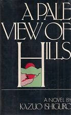 "KAZUO ISHIGURO ""A Pale View of Hills"" (1982) SIGNED First Edition FINE HC/DJ"